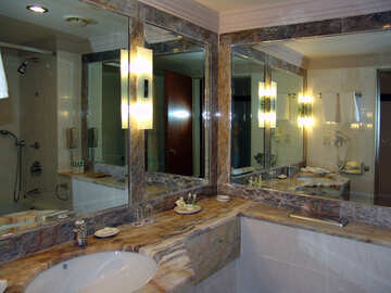 Mirrors Bath room. №8439