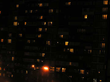 Night windows №8056