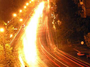 Notte strada principale №8061