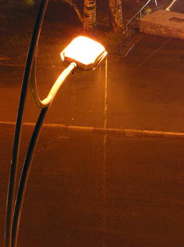 Pioggia , lanterna , città. №8073