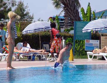 People,  Pool. №8777