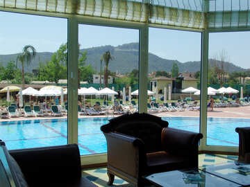 Hotel   pool №8323