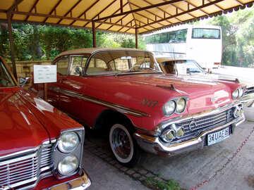 Retro  car №8255