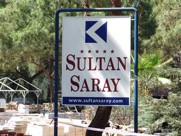 Sultan  saray.  Turkey.  Hotel. №8931