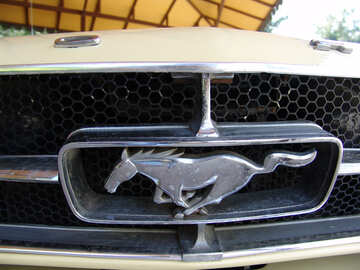 Ford  Mustang . icon , emblem. №8253