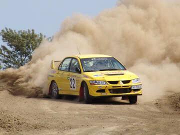 Rally  Mitsubishi №8096