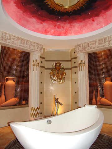 Luxurious  bath   №8937