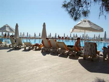 Pool   views  at  Sea №8333