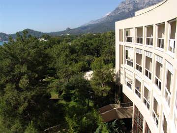 Hotel   Mining  woods. №8585