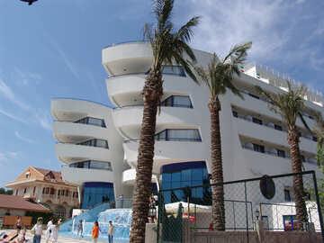 Hotel  near  sea. №8570