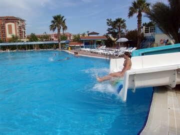 Water  slide №8781