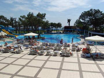 Pool  y  sea   water  slides №8322