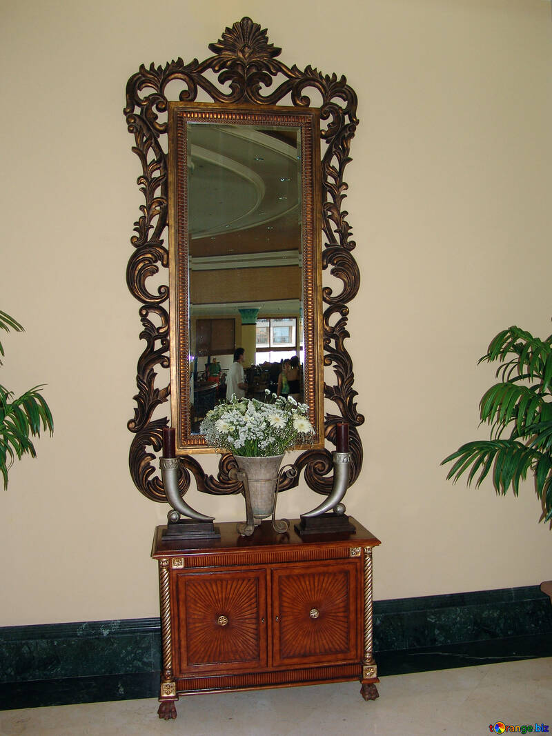 Antigüedad espejo. №8319