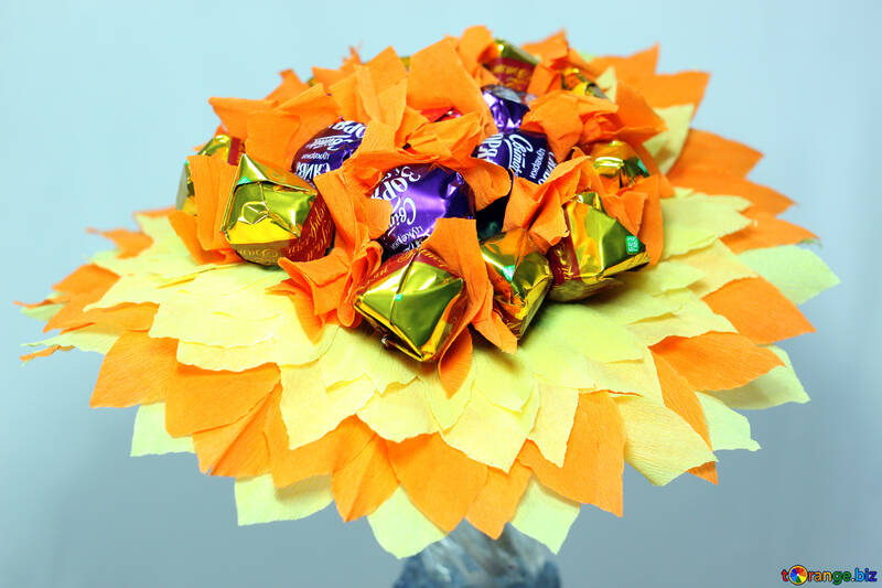 Bouquet  of the  candy №8625