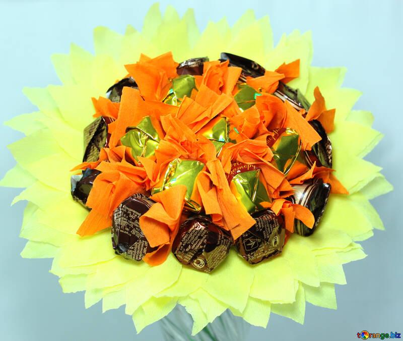 Süßigkeit  in  Blume №8626