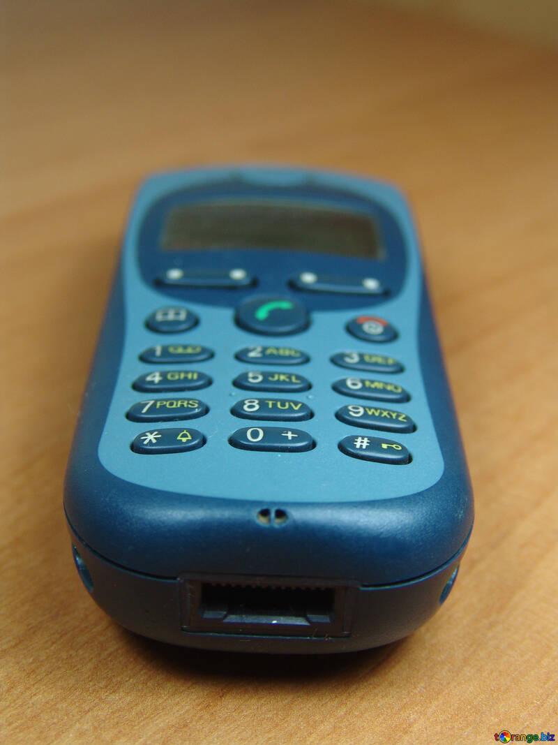 Vieux  mobile  téléphone №8974