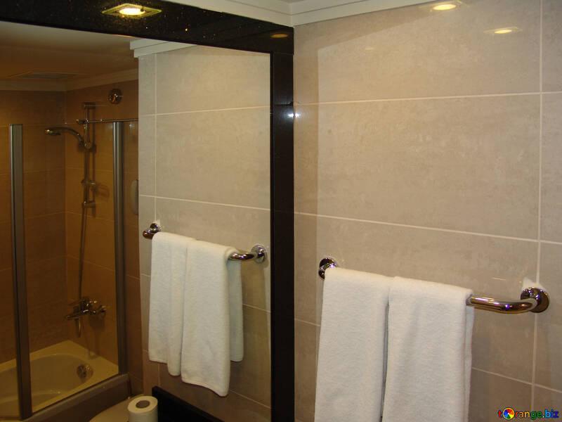Hoch Spiegel Toilette №8393