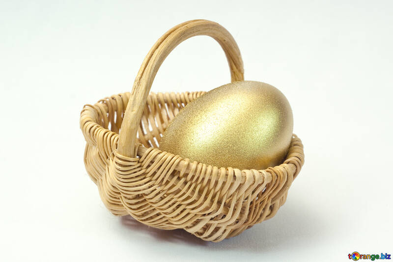 Cart   Gold  egg №8206
