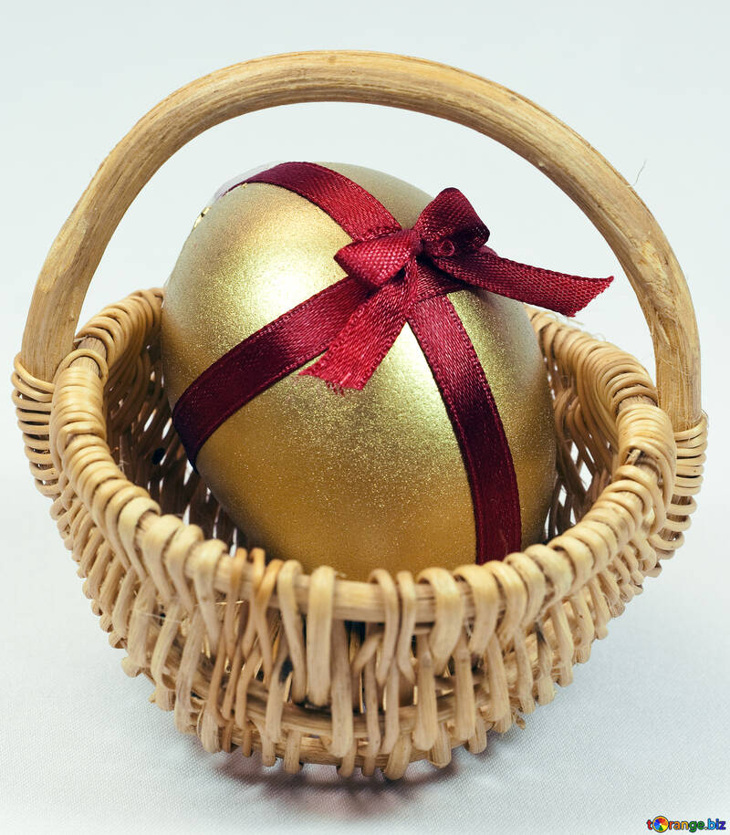 Gold  Easter  egg №8212
