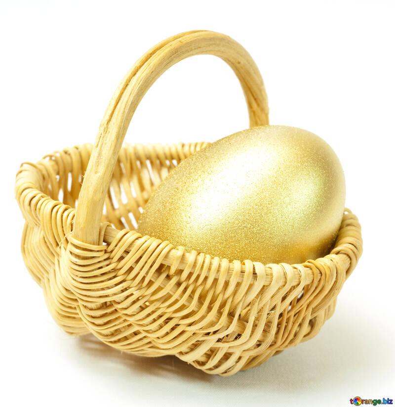 Gold  egg №8207