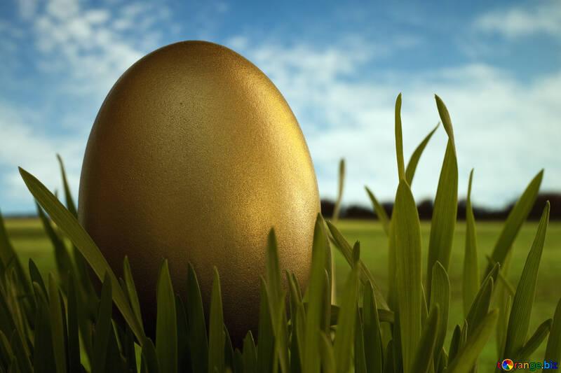 Egg - character  Easter №8119
