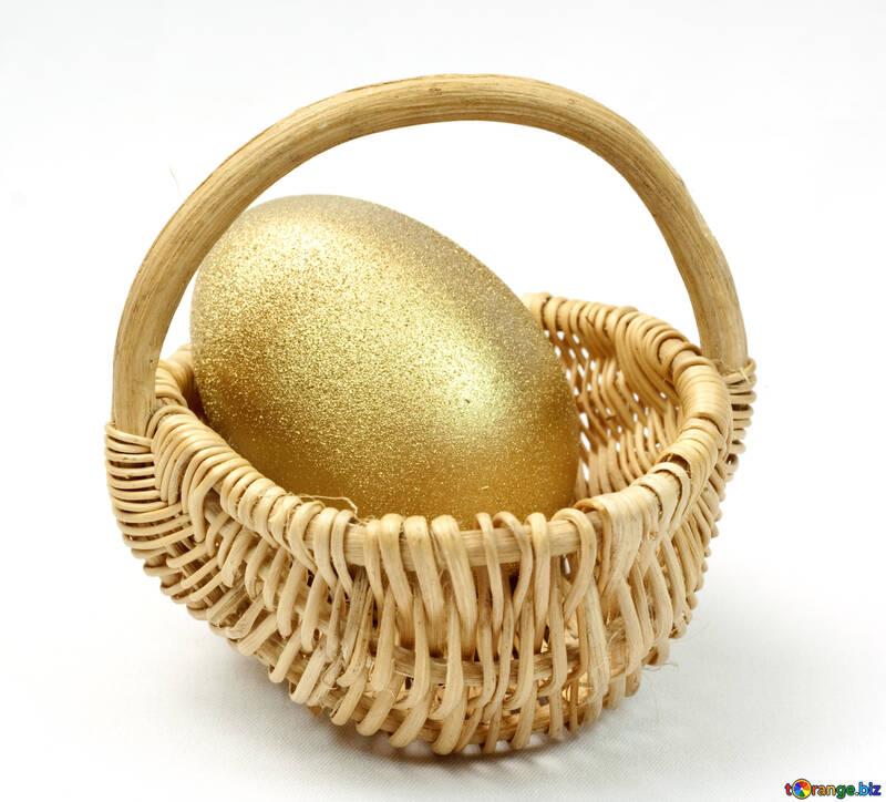 Gilt  egg. №8242