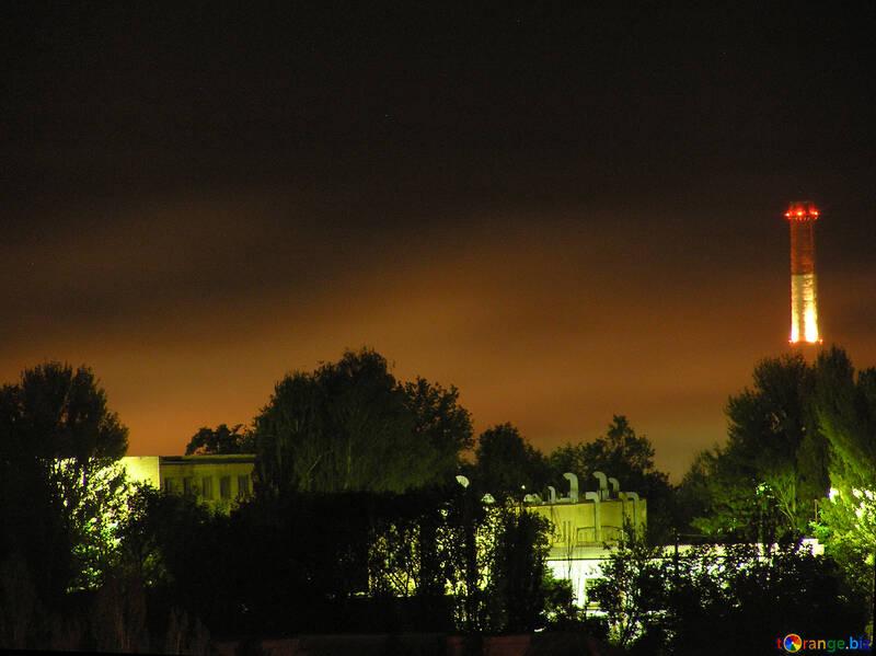 Industrial Area  night №8045