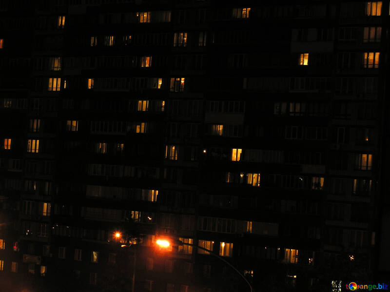 Night windows №8056