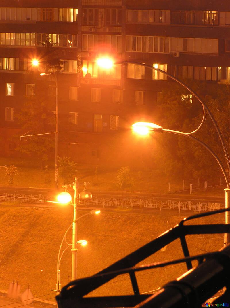 Bright  night  lanterns. №8070