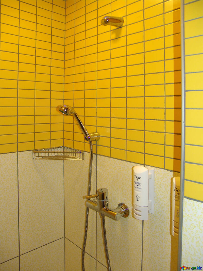 Bright  tile   Bath  room. №8438