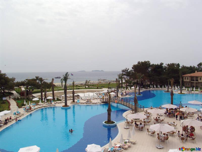 Pool   Turkish  hotel №8337
