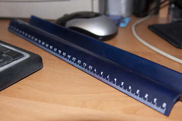 Ruler  at  table №9166