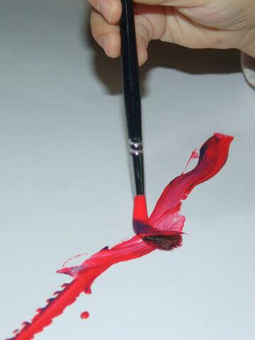 Children  paint №9223