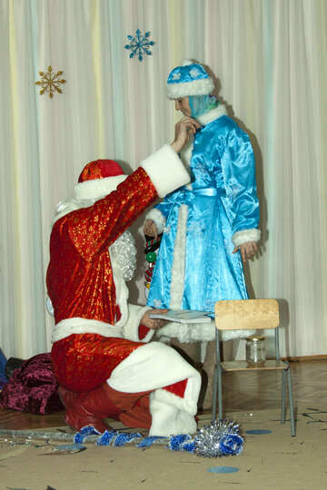 Santa Claus   creates  miracles №9838