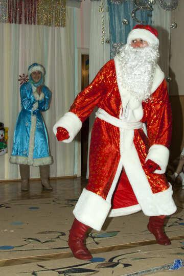 Дед мороз танцует №9846