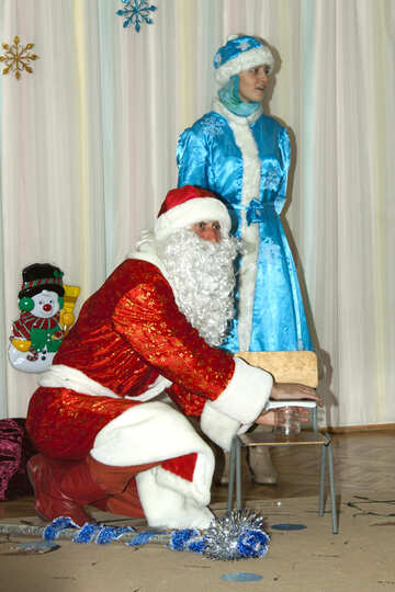 Grandfather  Santa Claus   №9832