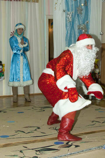 Santa Claus   tells  story №9843