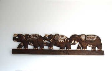 Decorative  decoration  Elephants №9472