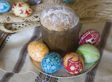 Easter  table №9728
