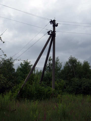 Pillar  and  wire №9623