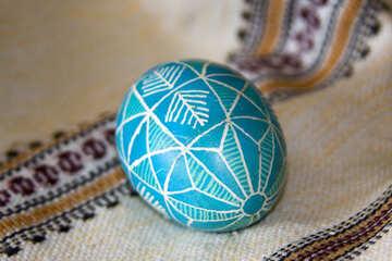 Пасхальный узор на яйце №9705