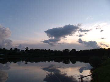 Lake  for  Fishing №9645