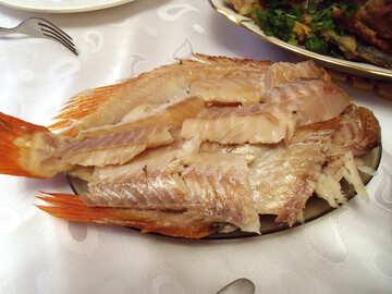 Smoked  fish №9966