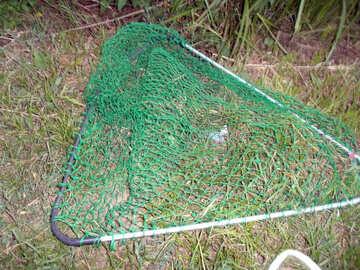 Fishing scoop dipnet №9574