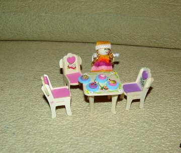 Doll  furniture №9239