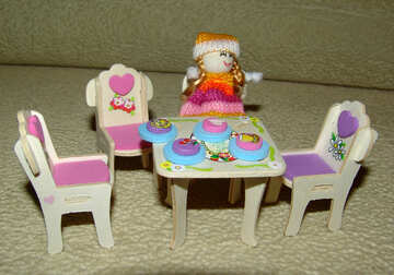 Furniture  for  dolls №9253