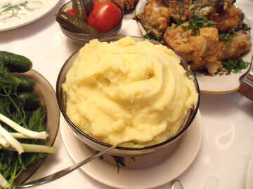 Potatoes  puree №9969