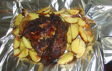 Meat  and  potatoes №9169