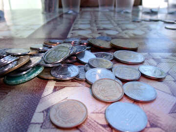 Ukrainian  money.  Coins. №9509
