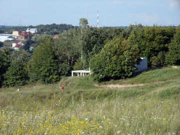 The slope  hill №9590